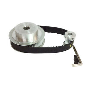Htd3m Timing Belt Kit Pulley 60 Teeth And 20 Teeth Shaft Center Distance 80mm