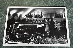 1940 Chevrolet Special Deluxe Convertible Display 12 X 18 Black White Picture