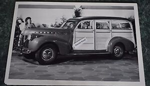 1940 Chevrolet Special Deluxe Panel Station Wagon 12 X 18 Black