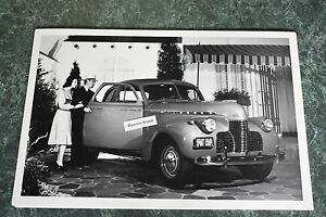 1940 Chevrolet Special Deluxe Sport Coupe 12 X 18 Black White Picture