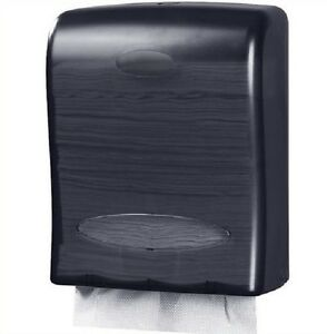 Oasis Creations Touchless Wall Mount Paper Towel Dispenser Holds 500 Multifold