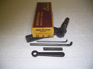 Armstrong 83 311 16f Boring Tool Holder 1 2 X 1 new n o s made In U s a
