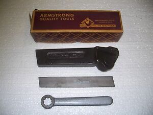 Armstrong No 32r 83 169 cut off Tool Holder new n o s made In U s a