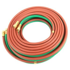 Twin Welding Hose Grade T 100 X 3 8 Oxygen Propane 100 3 8 Bb Connection