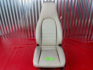 Porsche 911 944 Linen Leather Partial Power Passenger Seat 047