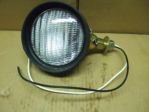Tractor Combination Flood And Tail Lamp 4 Base Mount 4 Lens Usa Made