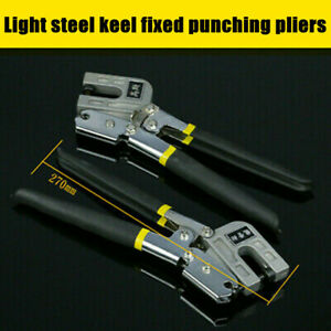 Cable Tie Fasten Gun Pliers Crimper Tensioner Cutter Tool Stainless Steel Black