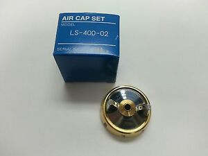 Iwata Ls400 Supernova Gold Basecoat Air Cap New In Box