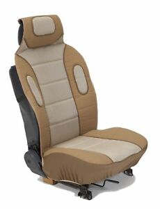 Eurow Sideless Sport Mesh Seat Cover Tan 2 Pack