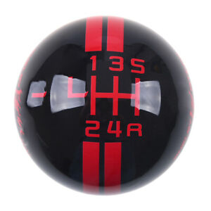 For Ford Mustang Shelby Gt 500 5 Speed Stick Gear Shift Knob Lever Shifter