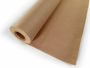 Packing Paper Craft Wrapping Gift Mailing Butcher Drawing Diy Jumbo Roll Brown