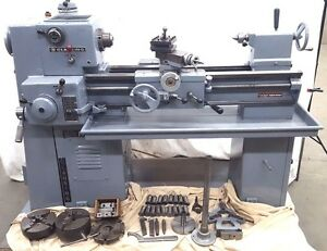 Clausing 6900 Series Tool Room Lathe Loaded With Tooling In Excellent Condition