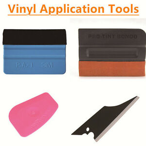 Vinyl Application Tool Kit 3m Squeegee Pro Bondo Squeegee Lil Chizler Squeegee