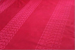 Jdm Recaro Seat Red Color Fabric Interior Fabric 1m X1 55m Front Rear Seat Cover