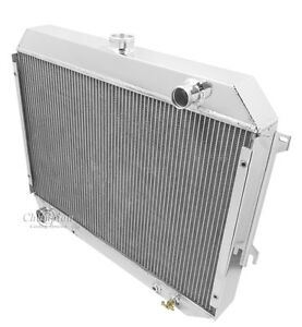 Champion Racing 3 Row Radiator For 1970 1971 1972 1973 1974 Dodge Challenger Bb