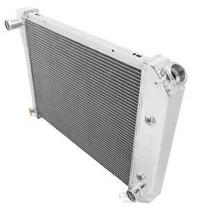 Champion Racing 4 Row Aluminum Radiator For 1964 88 Chevy Buick Cars