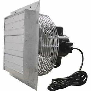 12 Exhaust Fan Direct Drive 115v 1115 855 555 Cfm 3 Speed 1 Phase