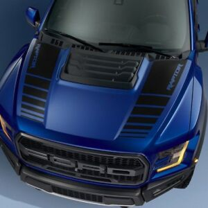 Ford F150 Raptor 2017 2018 Hood Graphics Package Kit Decal Sticker 1
