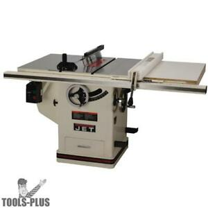Jet 708676pk Jtas 10xl50 1dx 10 Deluxe Xacta Table Saw 30 Xacta Fence Ii New