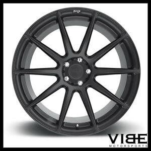 20 Niche Essen Black Concave Wheels Rims Fits Hyundai Genesis Coupe
