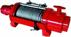 Hydraulic Winch 12 500 Or 17 500 Lbs Inc Accessories Balance Valve tension