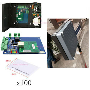 Auto Door Control 125khz 1m Middle Distance Proximity Rfid Reader Parking System