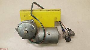 Wiper Bracket Motor Switch For John Deere 4020 4520 Tractors With Stolper Cab