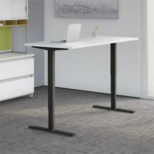 Move 80 Series 48w X 30d Height Adjustable Standing Desk In White