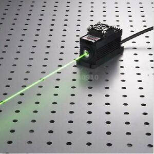 532nm 100mw Green Laser Dot Module Ttl analog Tec Ps ii Lab Power Supply