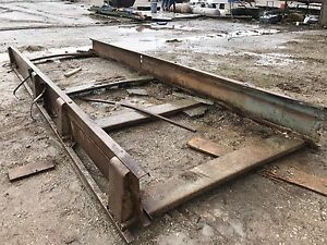 Portable Log Band Saw Mill Carriage Frame Portable Mill 20 Frame Heavy Duty