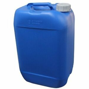 Air Sea Containers 25l 6 6 Gallon Hdpe Jerrican blue