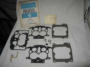Nos Mopar 1972 Thermoquad Gasket Kit