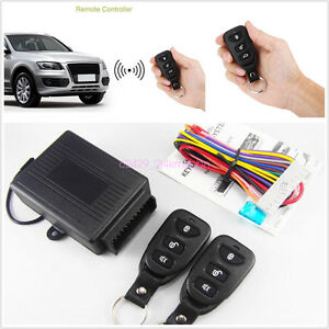 Car Remote Control Central Kits Door Lock Locking Keyless Entry Universal System