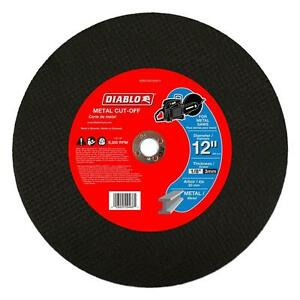 Diablo 12 In Metal Cutting Tool Saw Blade 5 Pack Wheel Cut Off Disk Disc Cutter
