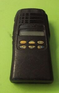 Sale Used Motorola Ht1250ls Uhf Two Way Radio Aah25sdh9dp5an Radio Only 2