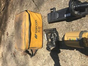 Topcon Rl 25 Rotary Interior Laser Surveying Equipment With F Mount And Wall Mou