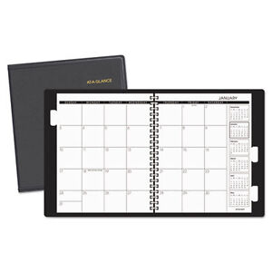 Refillable Multi year Monthly Planner 9 X 11 White 2017 2019
