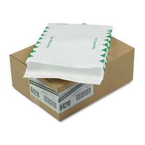 Tyvek Expansion Mailer First Class 10 X 13 X 1 1 2 White 18lb 100 carton