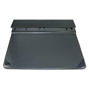 Executive Desk Pad Organizer With Storage Matte Finish 22 X 17 Black