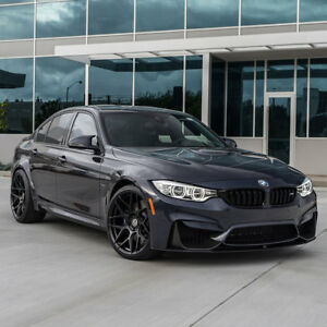 19 Hre Ff01 Flow Form Black Concave Wheels Rims Fits Bmw F80 M3