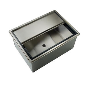 Krowne Metal D2712 7 27 Drop in Ice Bin W 73 Lb Ice Capacity W Cold Plate
