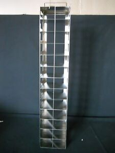 13 Box S steel Vertical Chest Freezer Rack For 2 High Boxes Includes Lock Rod