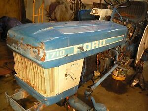 Ford 1710 Tractor Hood