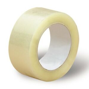 144 Rolls 2 x110 Yards 330 Ft Clear Carton Sealing Packing Packaging Tape