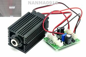 High Power 650nm 200mw Red Line Laser Diode Module W Ttl Long time Working