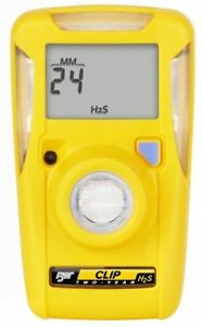 Bw Technologies Bwc2 h Yellow Bw Clip Portable Hydrogen Sulfide Monitor New