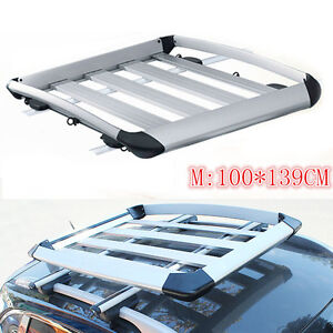 1pc 100 139cm Car Roof Carrier Luggage Carrier For Ford Explorer 2013 16 M Size