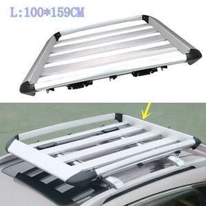 1pc 100 159cm Aluminum Car Roof Carrier Roof Racks For Ford Explorer 2013 16 L