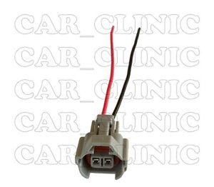 One Denso High Impedance Female Fuel Injector Connector Electrical Plug Pigtail