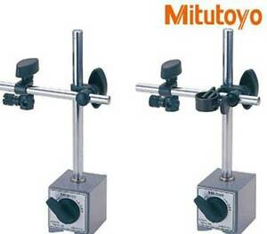 1pc New Mitutoyo 7010s 10 Magnetic Stands For Dial Test Indicators 017
